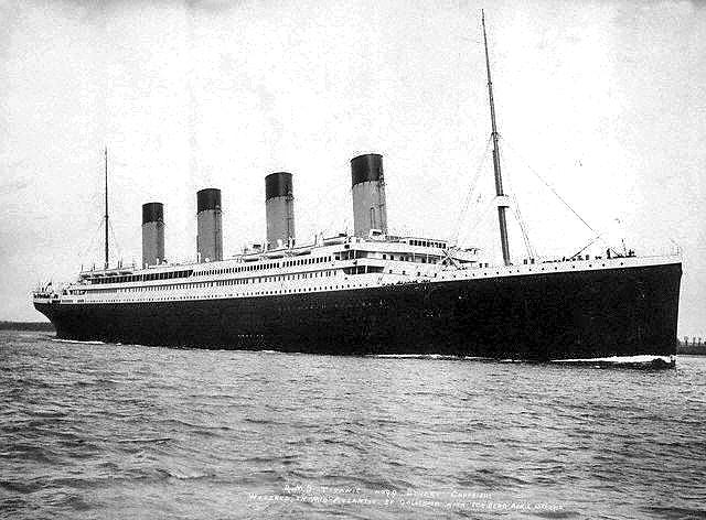 R.M.S.  Embarking on Fatal Maiden Voyage