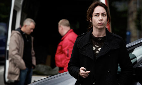 Sofie Grabol as detective Sarah Lund in Danish crime series The Killing.